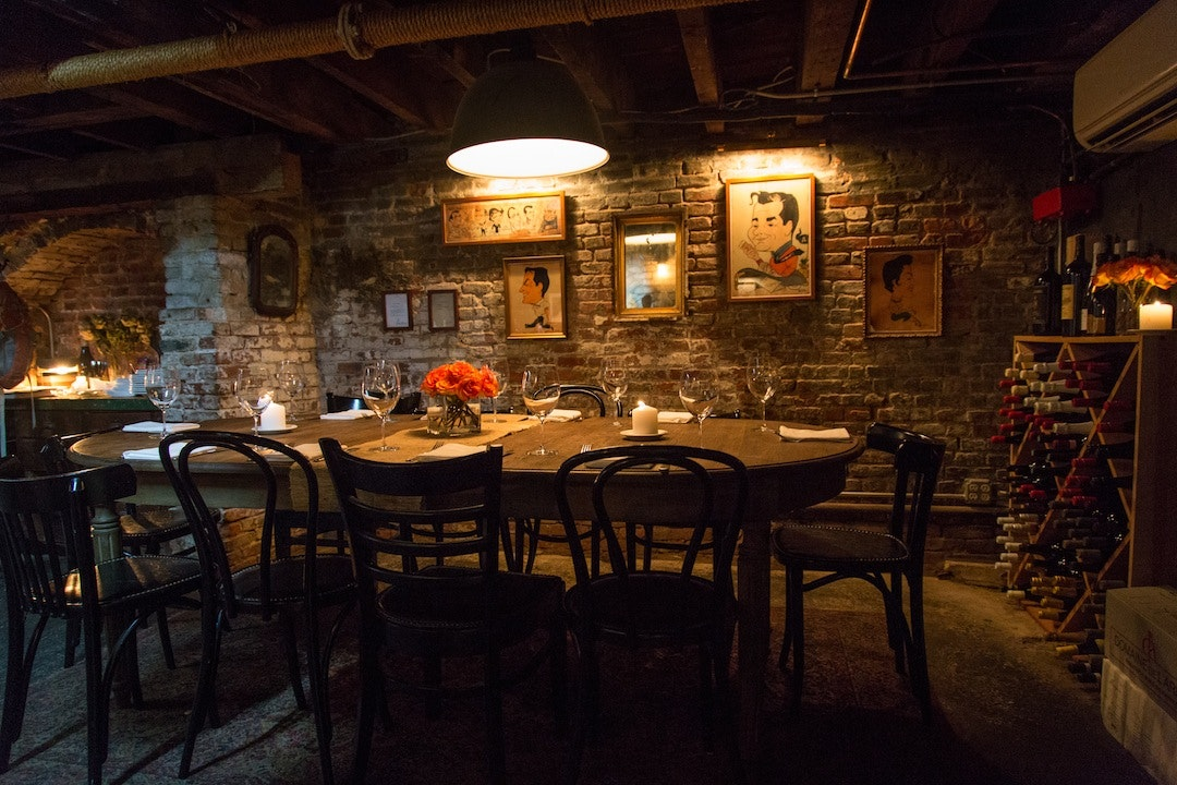 One Of Fedorau0027s Best Kept Secrets Is The Private Dining Room Hidden Below  The Restaurant. A Walk Down The Stairs Will Lead You To The Intimate, ...