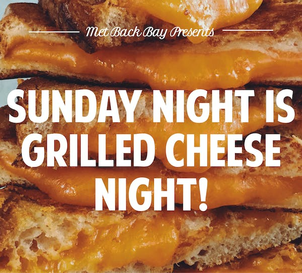 Sunday Night Grilled Cheese