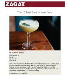 The 10 Best Bars in New York | Zagat