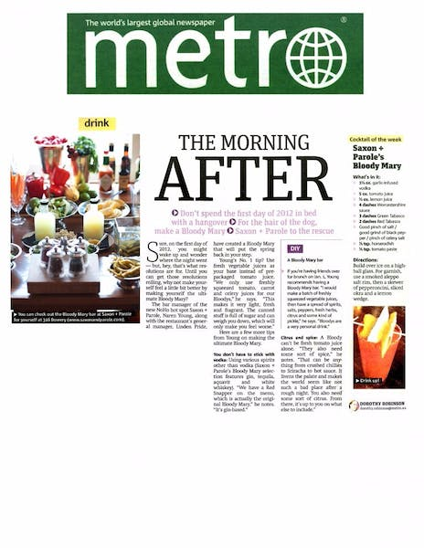 The Morning After | Metro