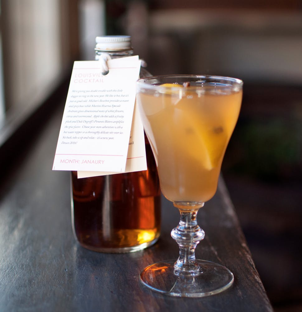 January 2017 - LOUISVILLE COCKTAIL