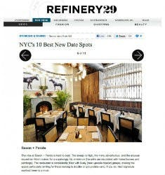 NYC's 10 Best New Date Spots | Refinery29