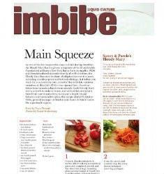 Main Squeeze | Imbibe