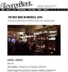 The Best Bars in America, 2014 | Esquire