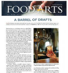 A Barrel Of Drafts | Food Arts