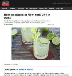 Best cocktails in New York City in 2013 | Time Out
