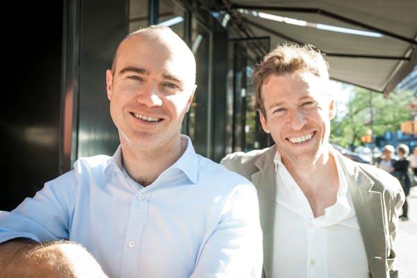 Robert Bohr and Chef Ryan Hardy
