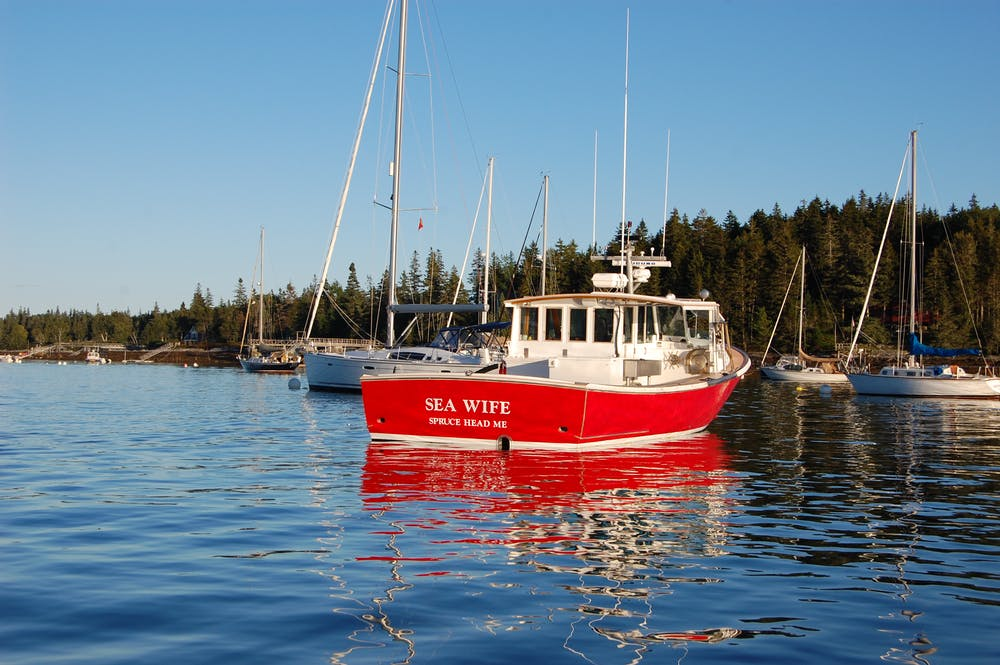F/V Sea Wife, belonging to lobsterman John Tripp.