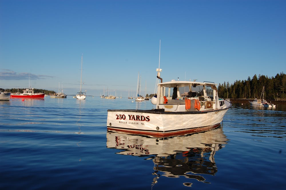 F/V 250 Yards in Tenants Harbor