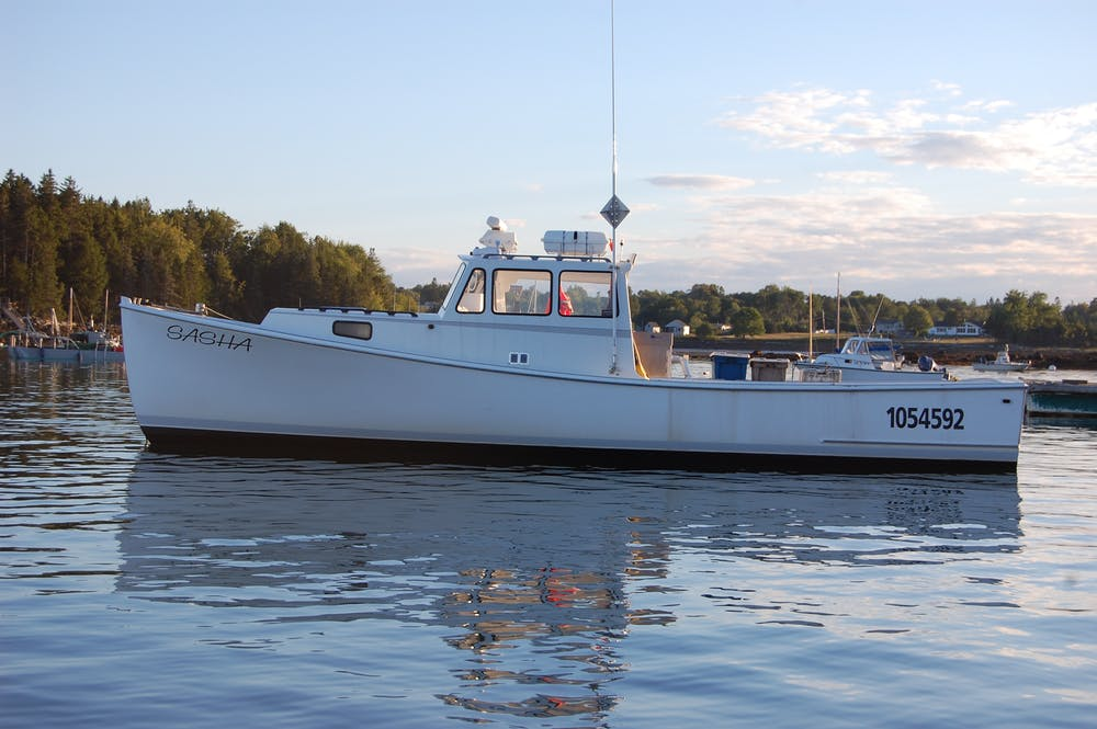 F/V Sasha of Tenants Harbor, ME had its name derived from the first initial of each woman in Peter Miller's family.