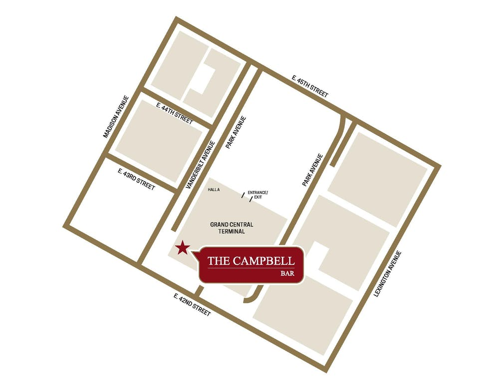 The Campbell Street Map