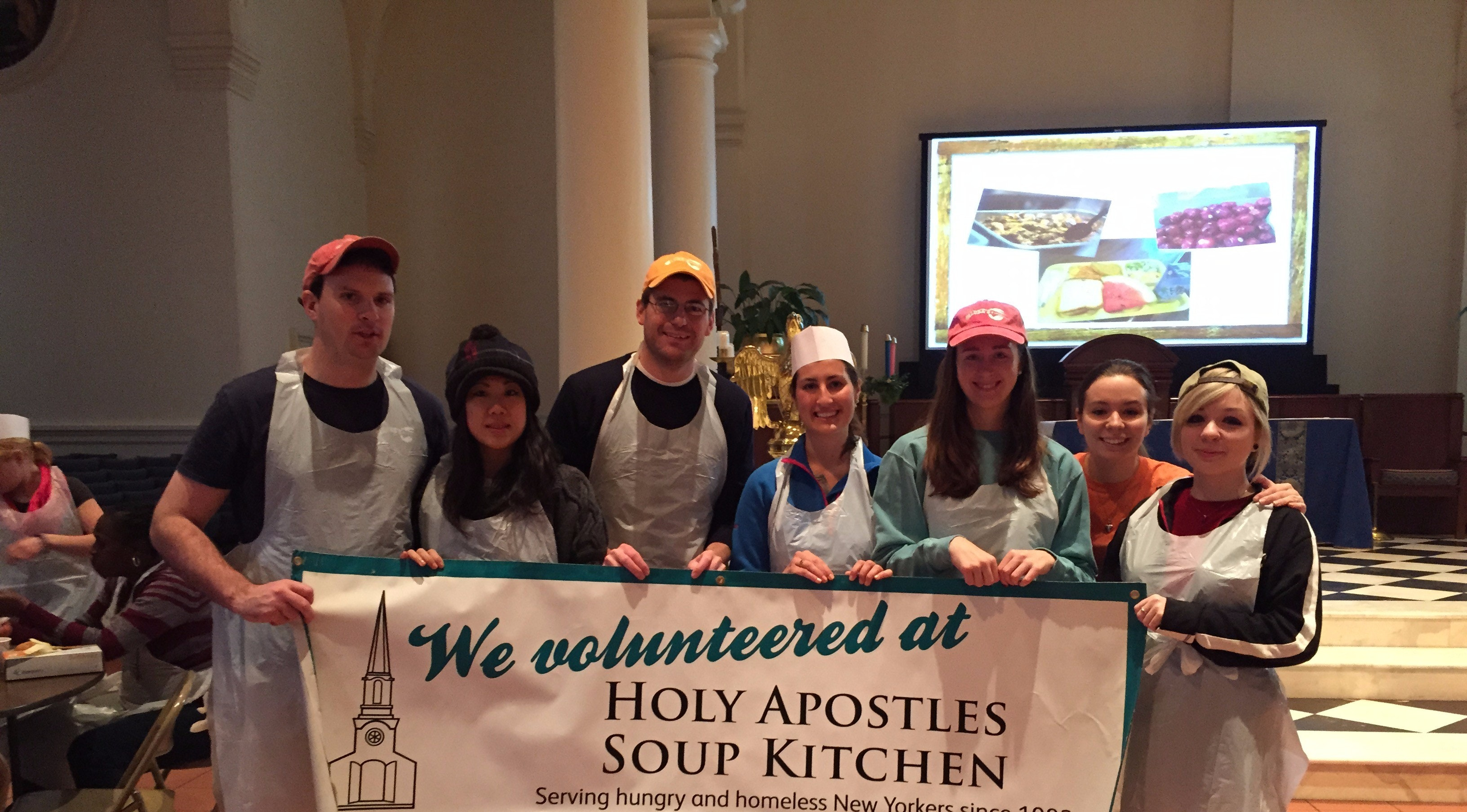 holy apostles soup kitchen brothers for excellence member abby