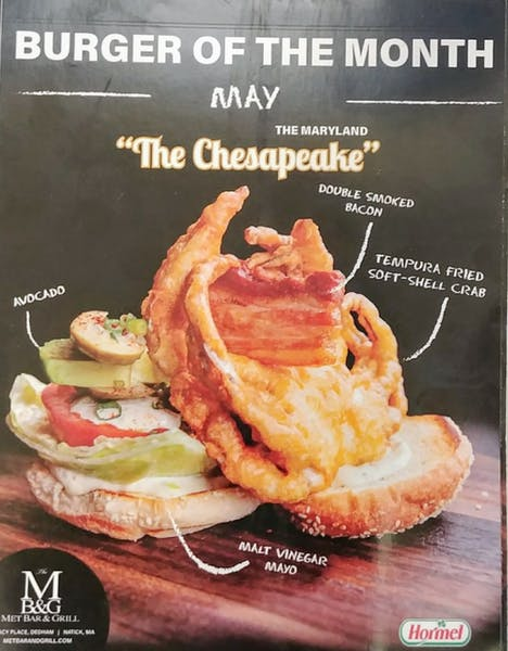 Burger Of The Month!!!