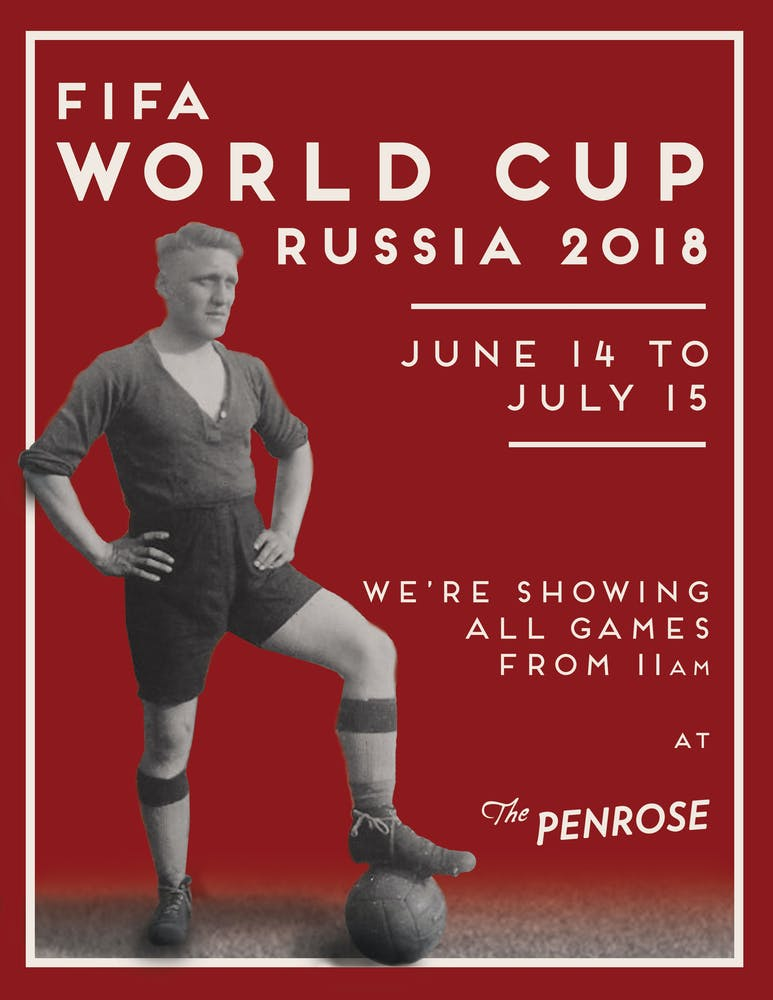 We'll be showing all World Cup games from 11 am!