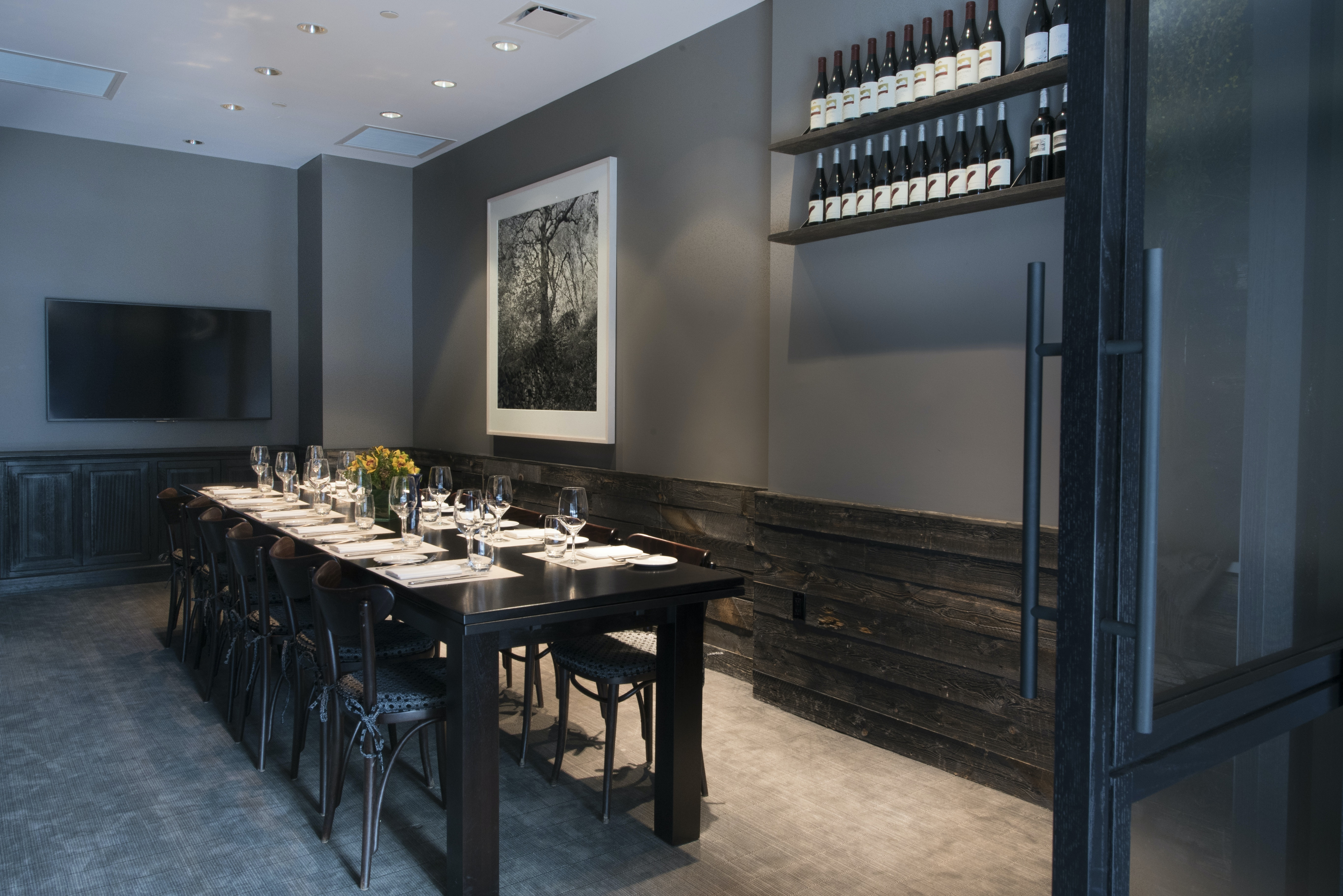 home design ideas private dining room nyc caf boulud at the