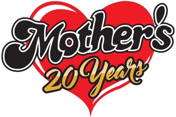 Mother's 20 year logo