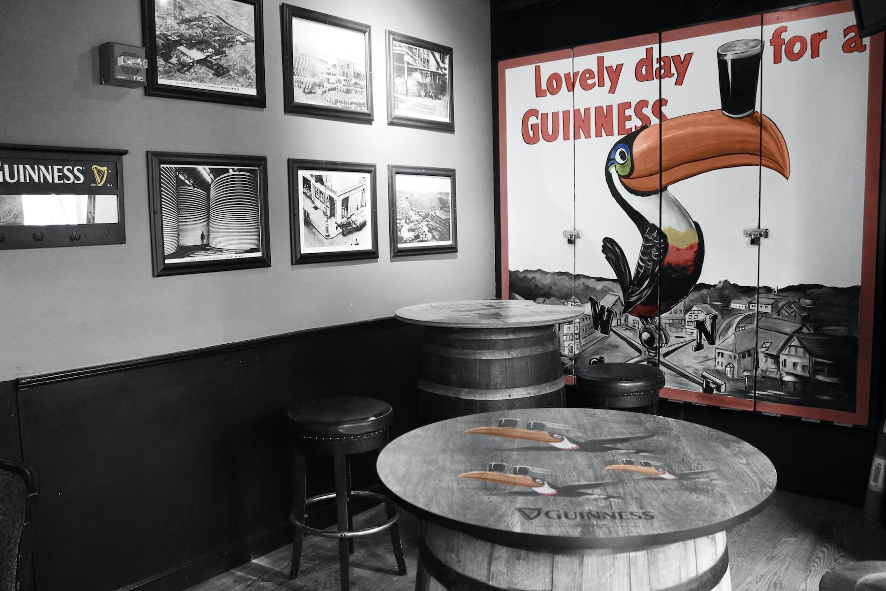 "The ""Guinness"" Room"