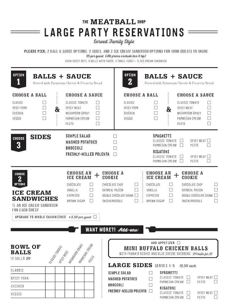 hells kitchen family style menu - Hells Kitchen Menu
