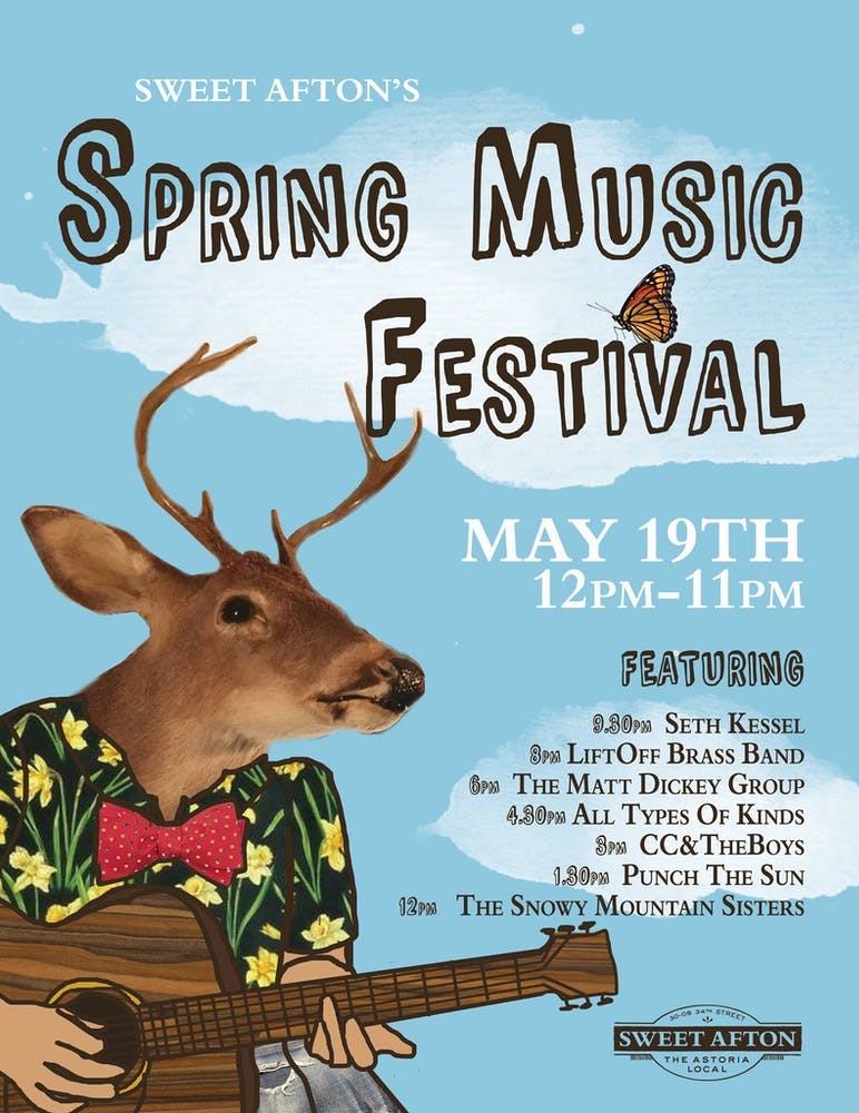 Spring Music Festival May 19, 12 pm - 11 pm