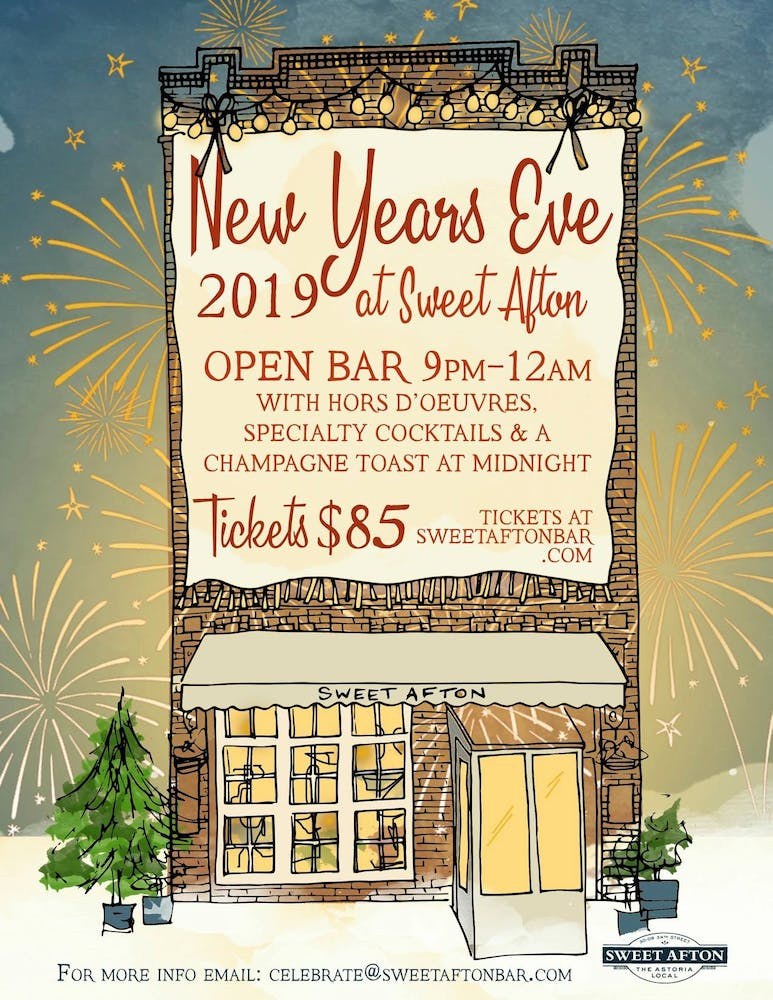 New Year's Eve tickets - click here