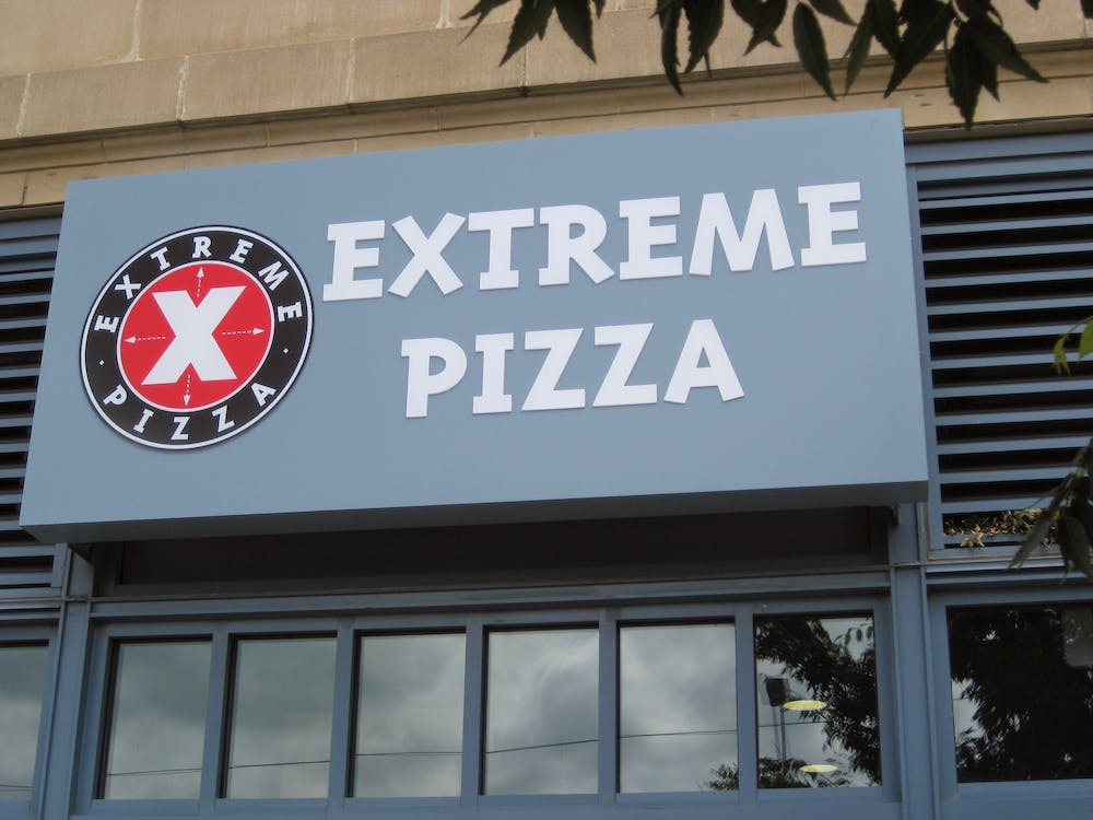 Extreme Pizza Sign
