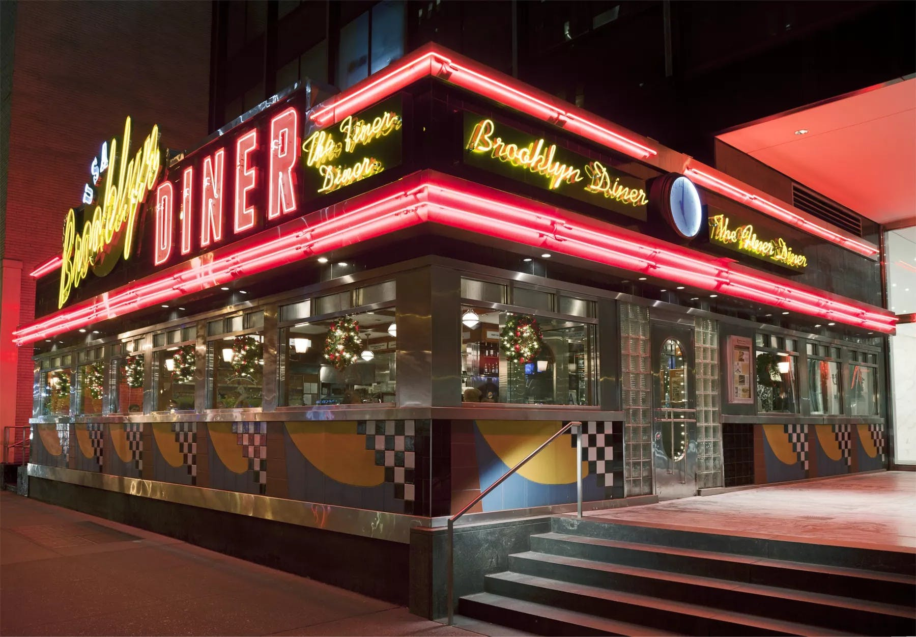 Exterior of Brooklyn Diner