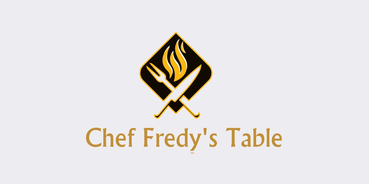 Menus Chef Fredys Table - Chef's table catering