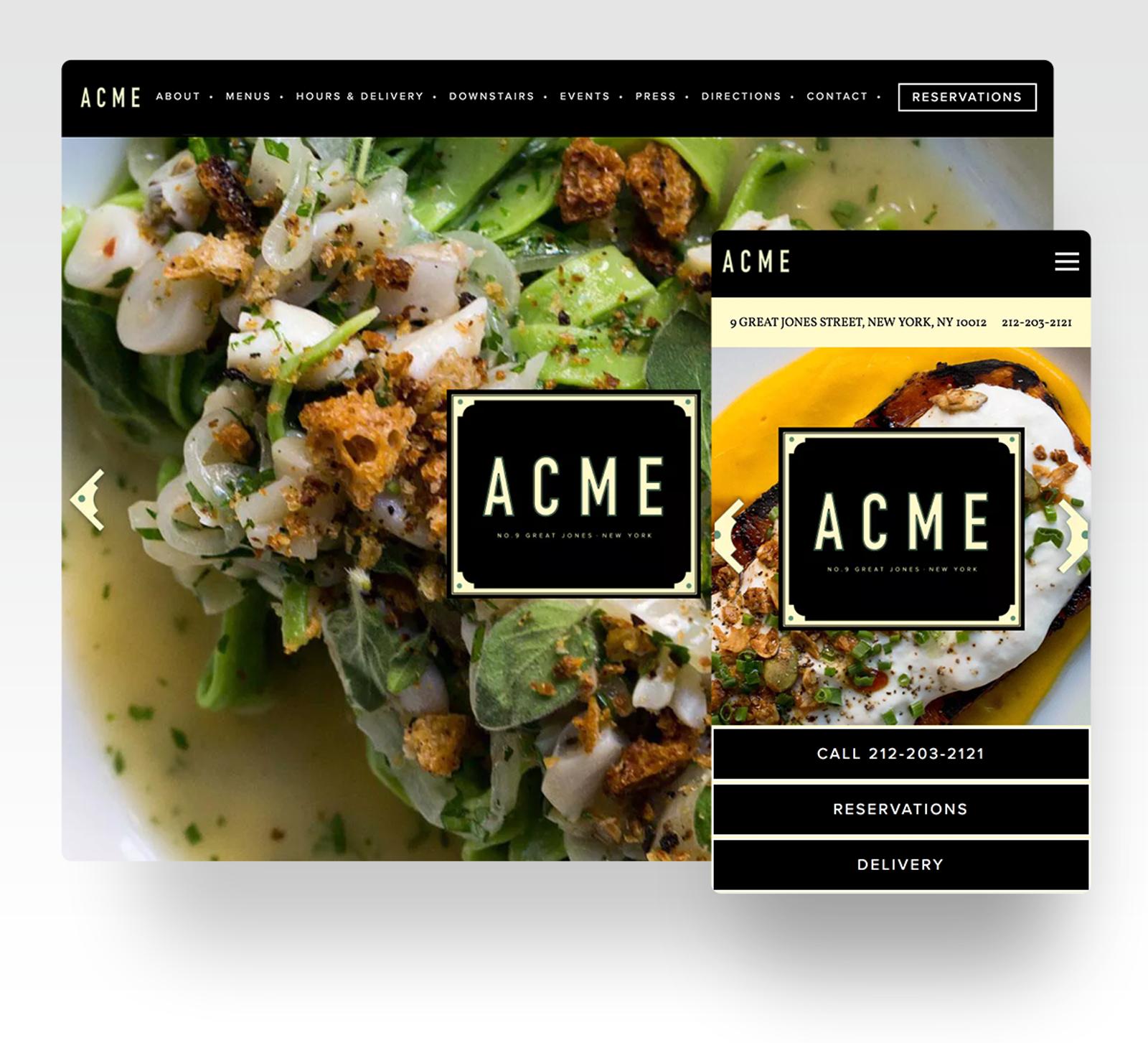 ACME website