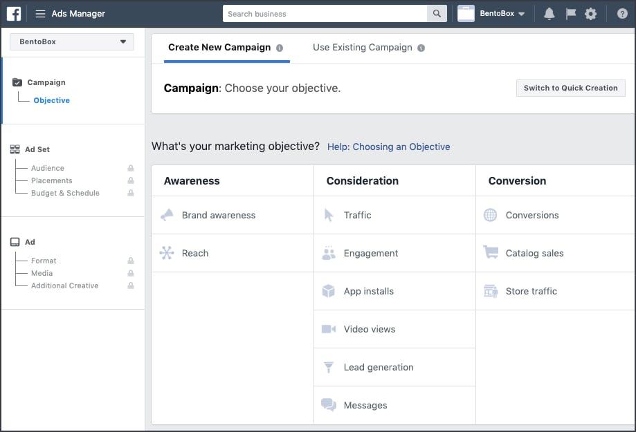Facebook Business Dashboard