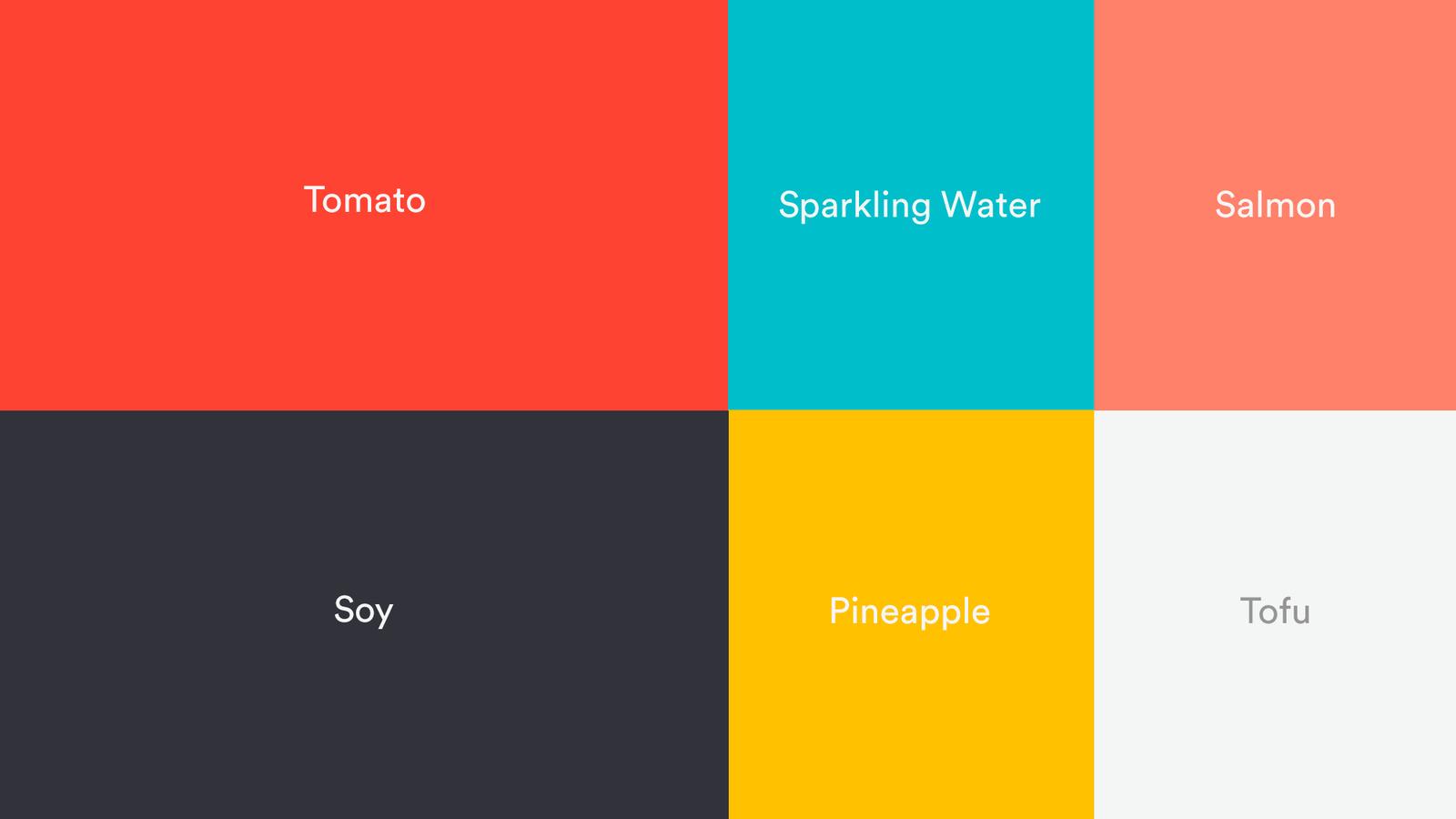 BentoBox new color scheme