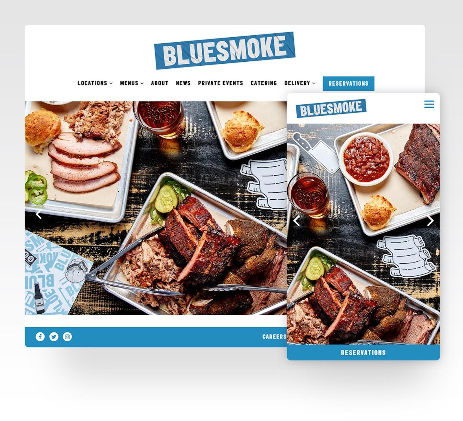 Blue Smoke's website