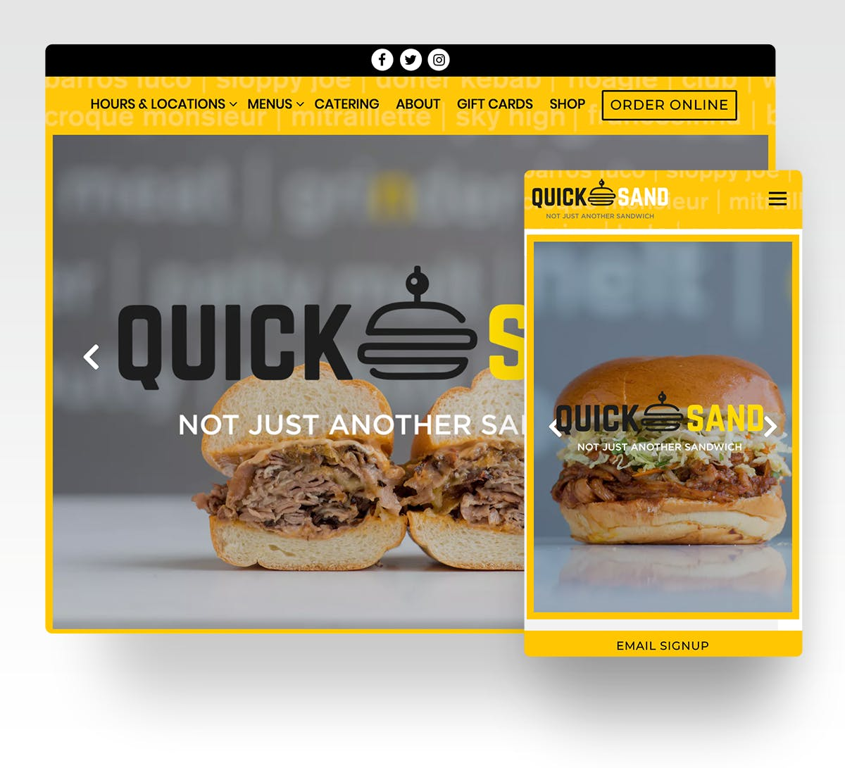 Quicksand website