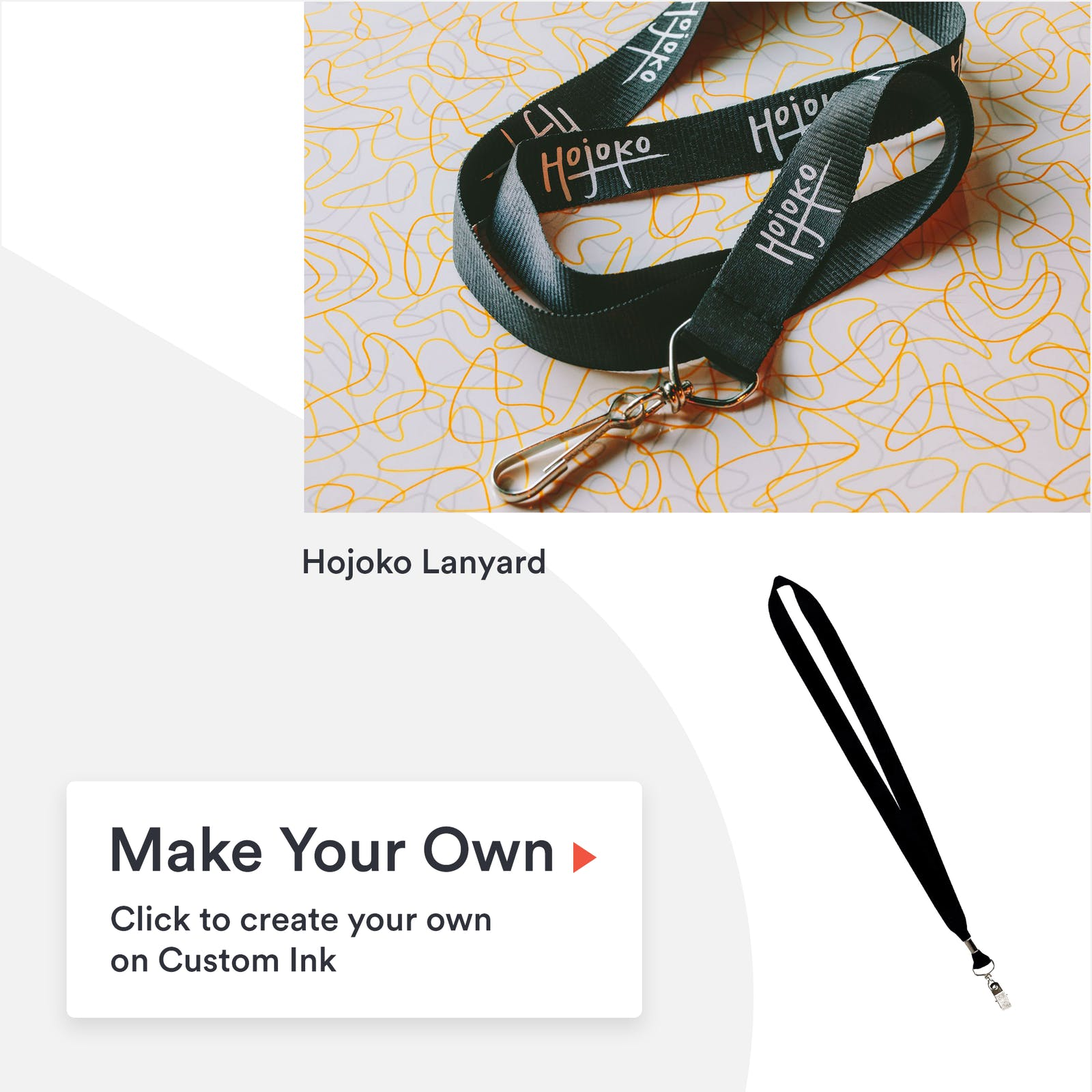 Hojoko lanyard & 3PL option