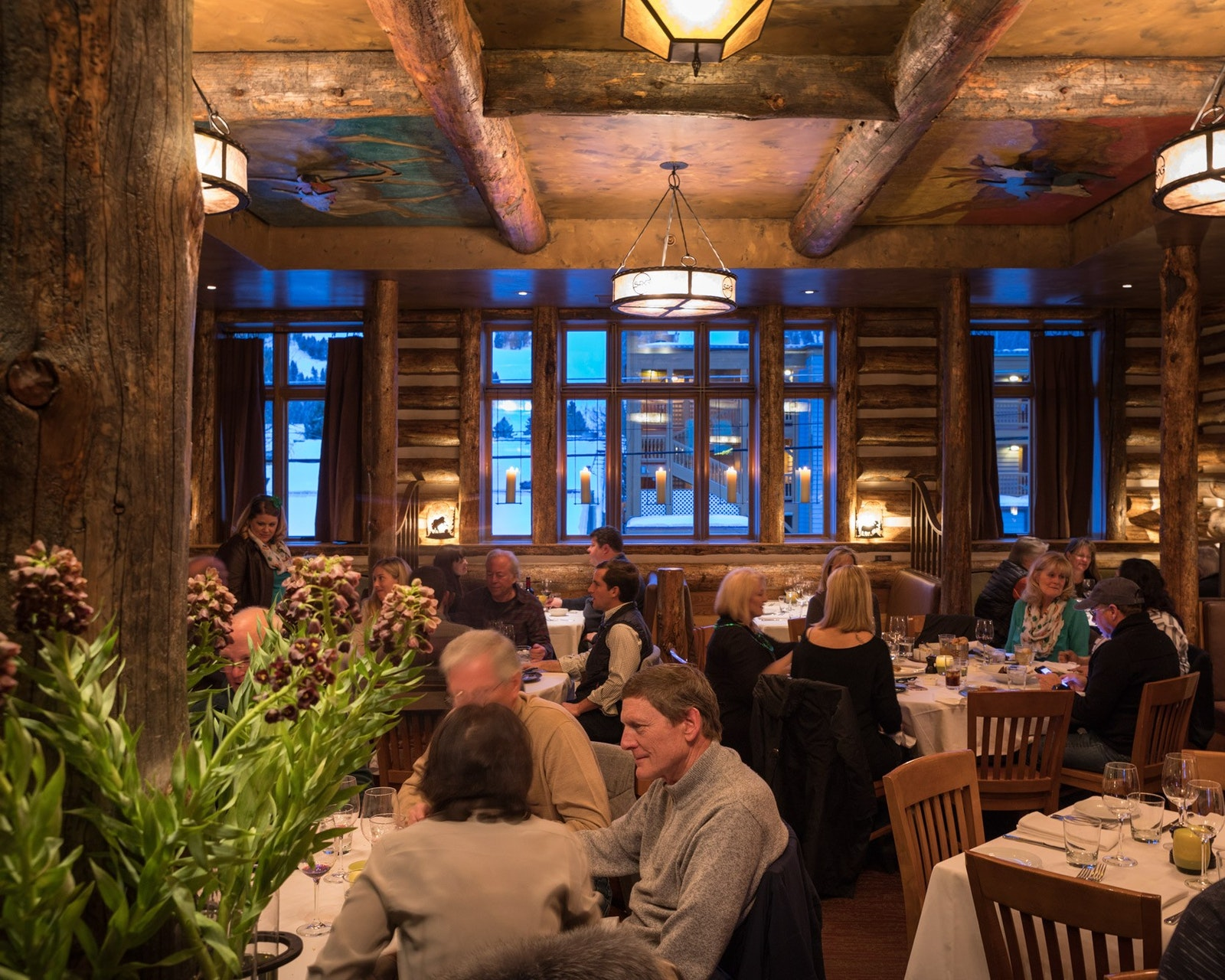 Snake River Grill's interiors