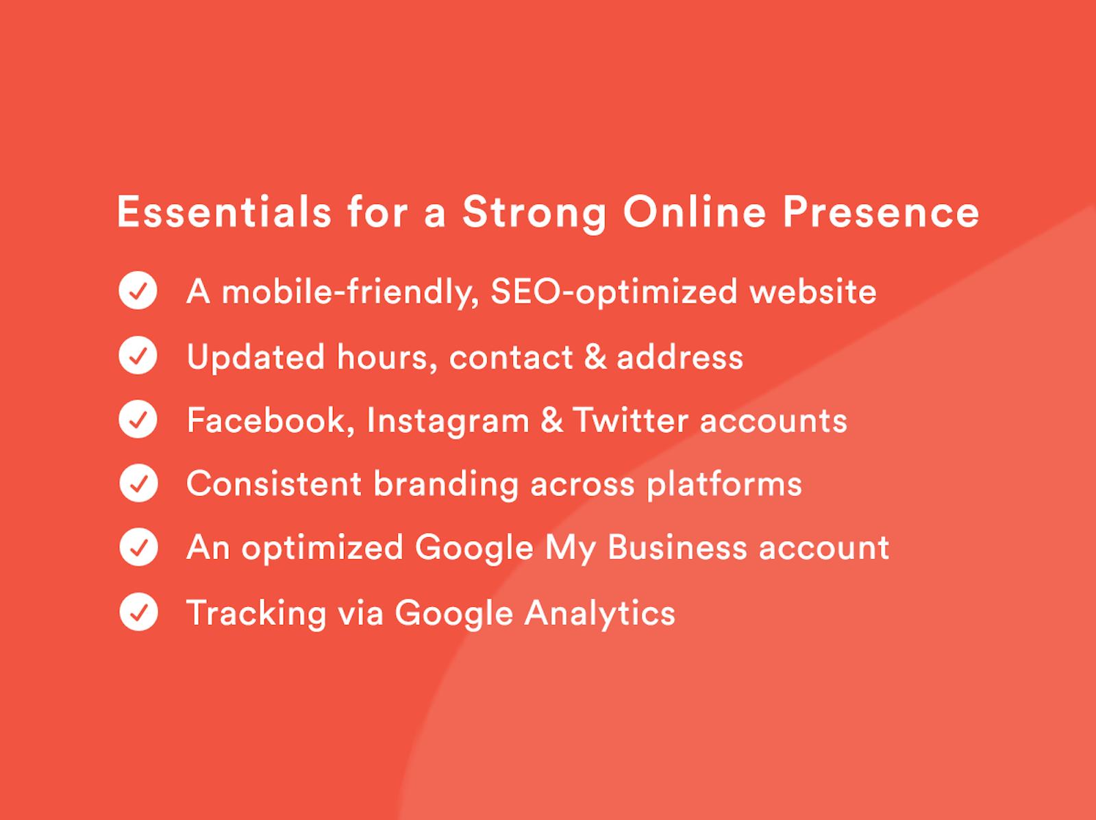 Checklist for Online Advertising for Restaurants