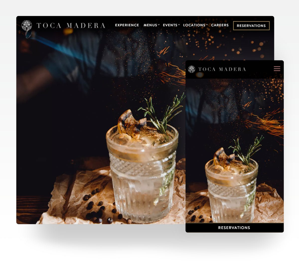 Toca Madera website